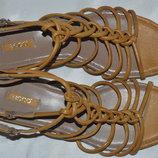 Босоножки сандали кожа ECCO размер 40, босоніжки сандалі