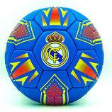 Мяч футбольный 5 гриппи Real Madrid 0047-129 PVC, сшит вручную