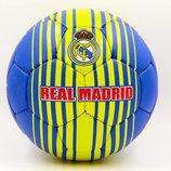 Мяч футбольный 5 гриппи Real Madrid 6684 PVC, сшит вручную
