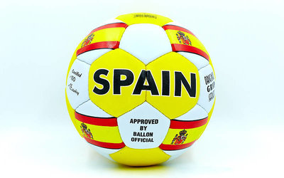 Мяч футбольный 5 гриппи Spain 0047-135 PVC, сшит вручную