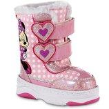 Сноубутсы Disney Minnie Mouse для девочек. Размер 27 - 30. Оригинал. Сша.