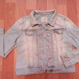 Джинсовая куртка р.140