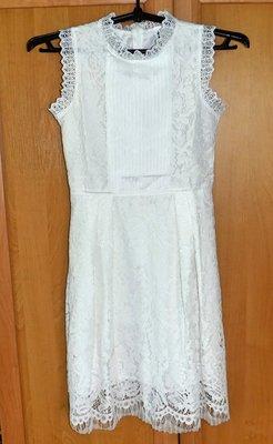 Нежное кружевное / ажурное платье, размер XS-S