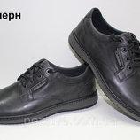 Туфли мужские кожаные на шнурках Clubshoes