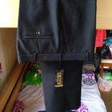 Качественные мужские брюки, черные KANSAY 44 размер