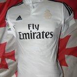 Спортивная фирменная футболка Adidas ф.к Реал .Mадрид 7-10 лет