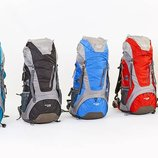 Рюкзак туристический каркасный с жесткой спинкой Color Life 172 объем 50 10 литров, 5 цветов