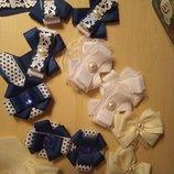 Набори для школи, Резинки, заколки, галстуки, брошки