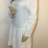 Пляжное котоновое платье р-m-l 40