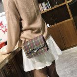 Элегантная сумка сундучок под ткань В Наличии
