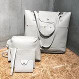 Стильный набор женский сумок 4в1 В Наличии