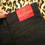 джинсы высокая талия mom Red Valentino оригинал