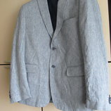 Льняной стильный летний жакет пиджак Liv collection 52