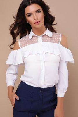 0985e75bd91 Женская блуза черная и белая стильная  330 грн - рубашки