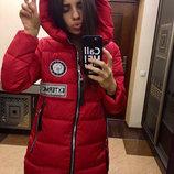 Куртка Чёрный красный темно-синий розовый 893вш