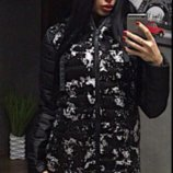 Куртка женская зима пайетки 330ян
