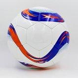 Мяч футбольный 5 Euro 6441 PU, сшит вручную