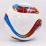 Мяч футбольный 5 Euro 6442 PU, сшит вручную