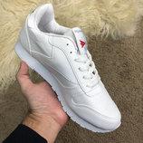 Кроссовки белые Рибок Reebok Classic Leather White