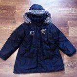 Курточка George демисезонная на рост 116 122 чёрная