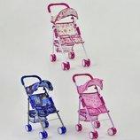 Коляска для куклы пупса Doll Stroller 816AB кукольная коляска