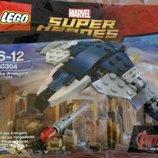 Скидка с 27-30.11 Конструктор LEGO Super Heroes супергерои Квинджет Мстителей 30304