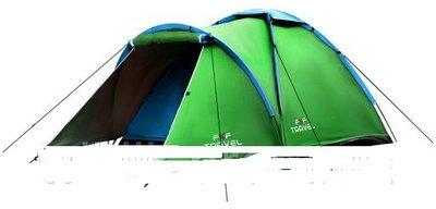 Палатка намет Iglo 210x180cm 4-х мест. Польша. Ol.