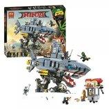 Конструктор Ninjago Movie Bela аналог Lego 70656 Морской дьявол Гармадона 10799. TT
