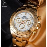 Часы Rolex Daytona gold white