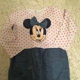 Платье-Туника минимаус. Фирмы Disney.