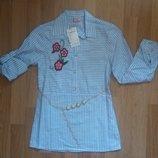 Рубашки - туники для девочек