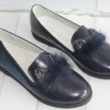 Туфли зайки для школы. Размер 32-37