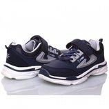 Кроссовки для мальчика Bessky 32, 33, 34, 35, 36, 37 р Синий B8108-1 Кроссовки для мальчика.