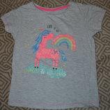 футболка Primark на 6-7 лет девочке рост 116-122 см Англия