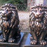 Лев из бетона скульптура