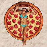 Пляжный коврик на пляж Pizza Пицца