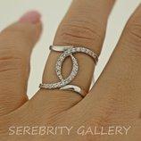 10% скидка подписчикам Под Заказ I 162454 Rd W 17 кольцо серебряное размер 17 каблучка срібна