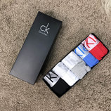 Мужское белье Underwear Calvin Klein Pack 5 Black/White/Gray/Blue/Red