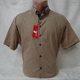 Мужская рубашка с коротким рукавом Redpolo, Турция. Разные цвета.
