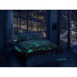 Постель сатин евро лондон флуросцентная Постельное белье Tac сатин Glow LONDON