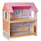Кукольный домик.Дом для кукол с мебелью MD 1154о