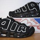Кожаные кроссовки Nike.