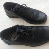 Классические туфли для мальчика. Для школы. размер 34 23 см стелька