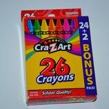 набор cra z art 26 crayons 24 2 bonus usa оригинал