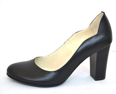 5a8b47b3d36e Туфли на толстом каблуке из натуральной кожи замши Производитель Украина