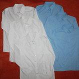 5 рубашек для школы в состоянии стока на 9-11 лет 134-146 см.