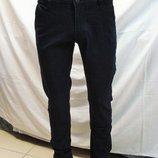 Джинсы -брюки мужские для школы,офиса, Luwan s зауженные,тёмно-синие разм.,30,,32,