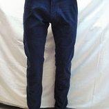 Джинсы -брюки мужские 5894 для школы,офиса, Luwan s зауженные,тёмно-синие разм. 29,31