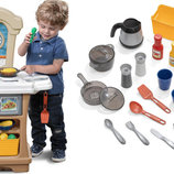 Step2 Интерактивная детская кухня Little Cooks Kitchen