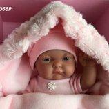 Реборн пупс Кукла младенец Карла в розовом конверте 26 см, Antonio Juan 4066P